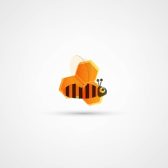 Honey and bee icon