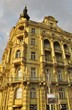Prag, Gebäude mit Erker und Balkonen