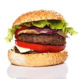 Fototapety Big home made burger