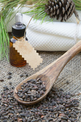 Aleppo pine essential oil