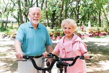 Senior Couple Stays Active