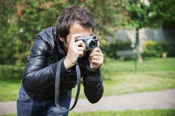 photographer man