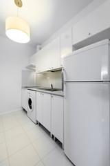 Compact kitchen interior design