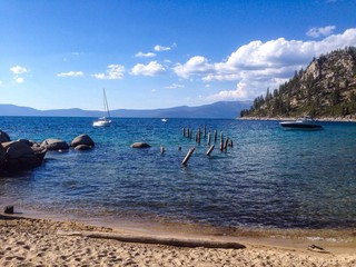 Skunk harbor of Lake Tahoe
