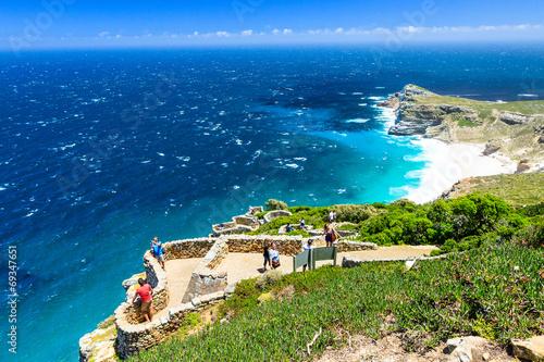 Foto Spatwand Zuid Afrika Cape Point, Kap der Guten Hoffnung