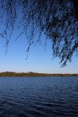 Der See Immeln in Südschweden
