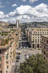Genova vista dall'alto