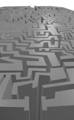 Grey maze