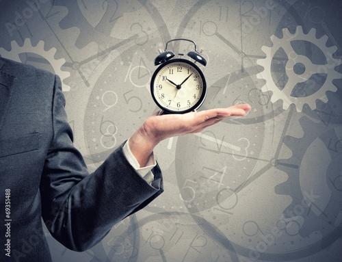 Leinwandbild Motiv Time