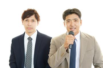 二人のビジネスマン