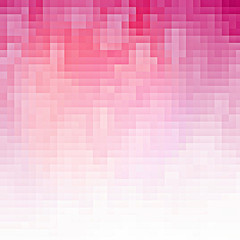 Abstract pink pixel background