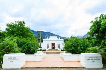 Hugenotten Gedenkmuseum, Franschhoek, Westkap, Südafrika