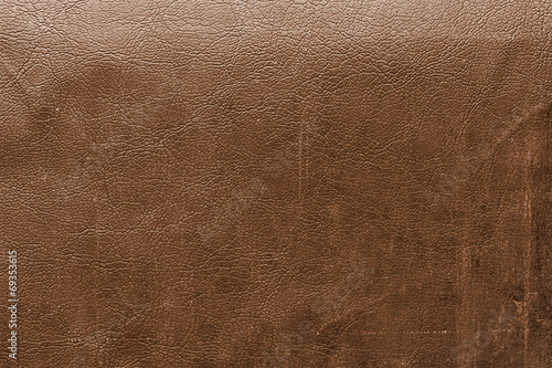 Fotobehang Stof Brown leather with detail and texture