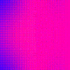 Purple halftone on pink background