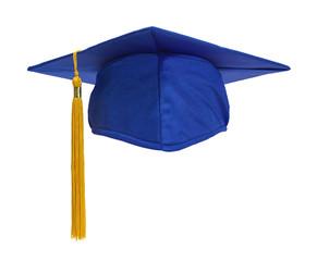 Blue Grad Hat Front