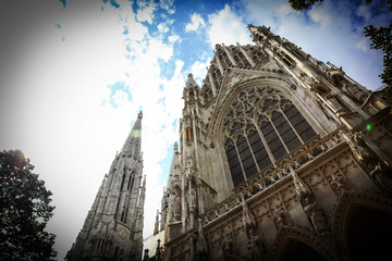 Votivkirche (Votive Church) in Vienna