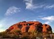 Leinwanddruck Bild - Hole in the Rock Hiking Papago Park in Phoenix Arizona