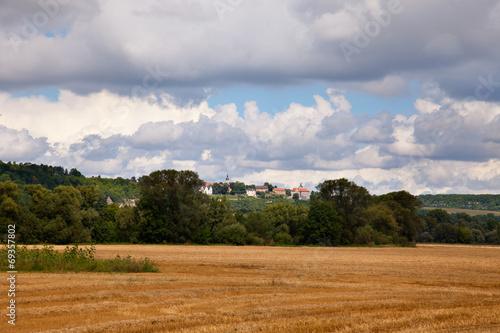 canvas print picture Landschaft bei Dorndorf