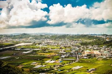 Okinawa from the sky