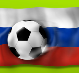 Football Flag Design Background