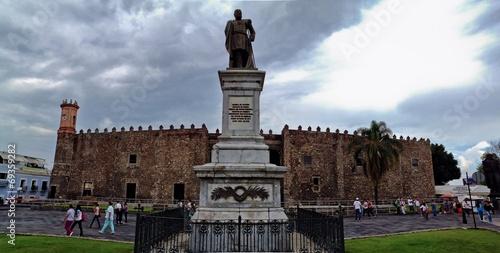 Fotobehang Kasteel Historical Palace of Hernan Cortes, Cuernavaca, Mexico