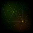 Modern neon lines vector background