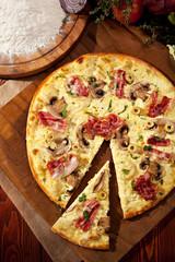 Delicate Pizza