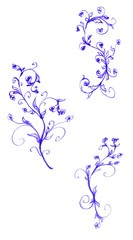 Ink Floral