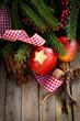 Weihnachtszeit, Apfel