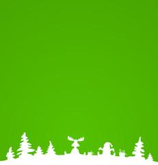Hintergrund Weihnachten grün