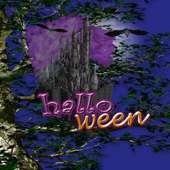 castello di halloween