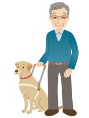 盲導犬 視覚障害者