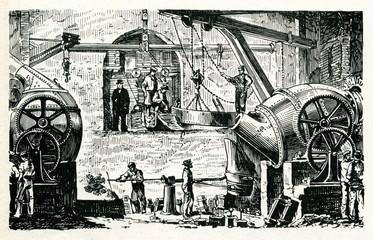 Bessemer process 1886