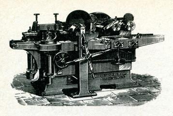 Planer (woodworking machine) ca. 1900