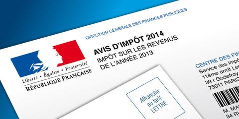 Avis d'impôt 2014