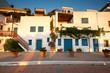 Obrazy na płótnie, fototapety, zdjęcia, fotoobrazy drukowane : Traditional houses in southern Crete, Greece.