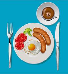 Vector of Breakfast