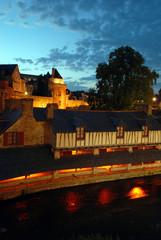 Le lavoir et la tour du connétable à Vannes