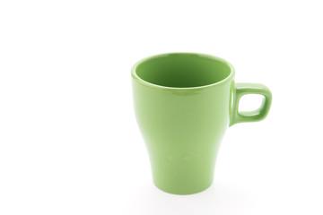Coffee mug isolated on white