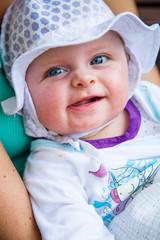 Cute newborn girl