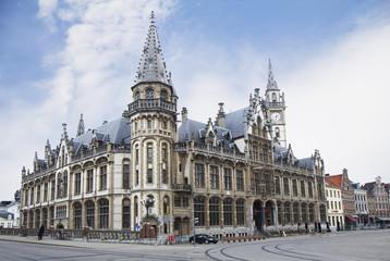 Бельгия. Гент, Здание почты.
