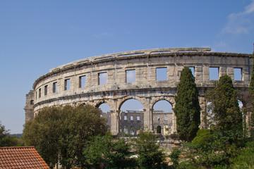 Pula Arena Amphitheatre in Croatia