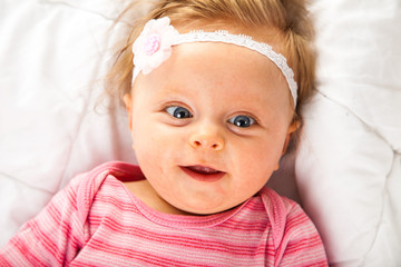 Very cute toddler girl