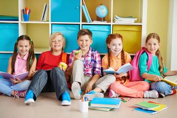 Group of classmates