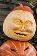 Halloweenkürbisgesicht