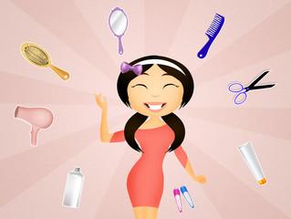 hairdresser woman