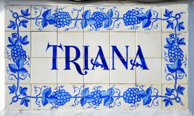 Azulejo de Triana, Sevilla, España