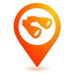 recherche jumelles sur symbole localisation orange