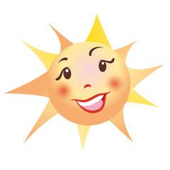 sun icon button