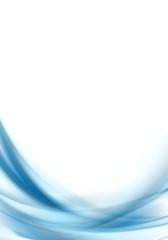 Blue blurred waves design